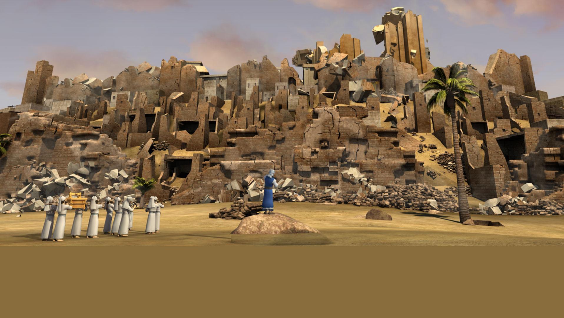 <h2>Рахав та стіни Єрихону</h2>