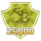 Earned 25,000 SuperPoints