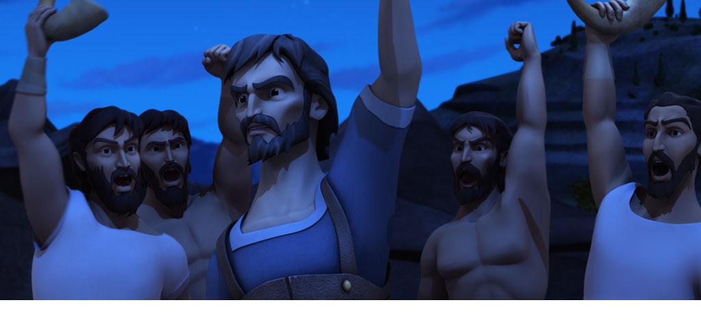 Gideon Rallies the Troops
