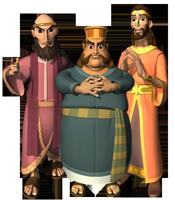 The Advisors to King Darius
