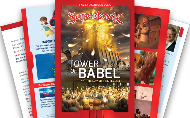 The Tower of Babel and The Day of Pentecost - Family Discussion Guide