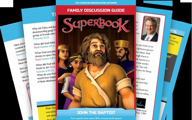Иоанн Креститель - Брошюра для всей семьи