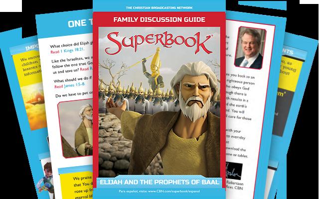 Илия и пророки Ваала - Брошюра для всей семьи