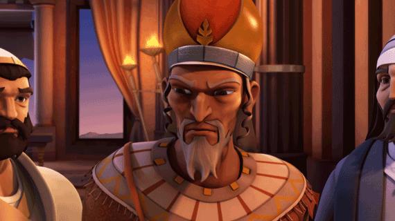 ہیرودیس بادشاہ غُصہ میں بھر جاتا ہے