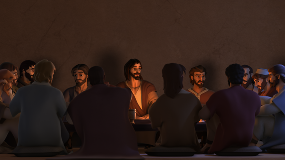 Jesus at the Last Supper