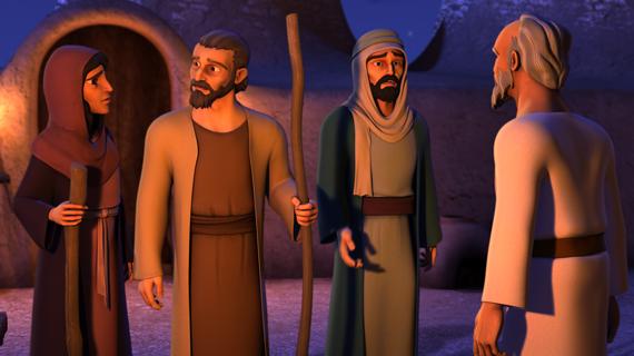 Eliezer Asks for Rebekah