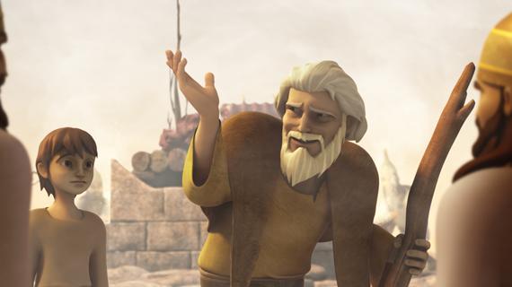 Илия высмеивает пророков