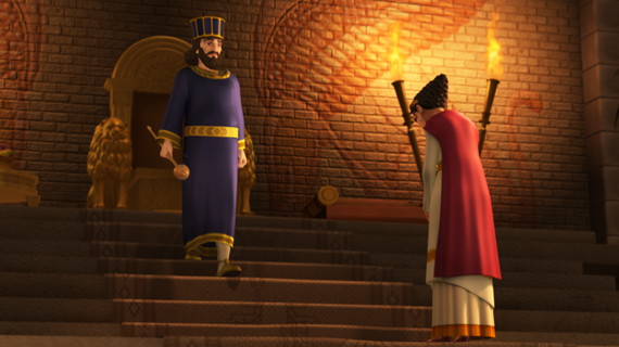 Esther Approaches the King