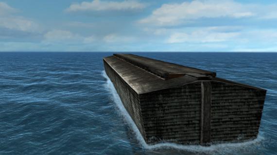 Бог вспоминает о Ное