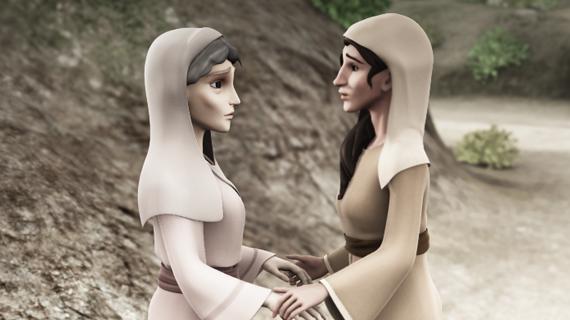 Naomi si Rut merg la Betleem