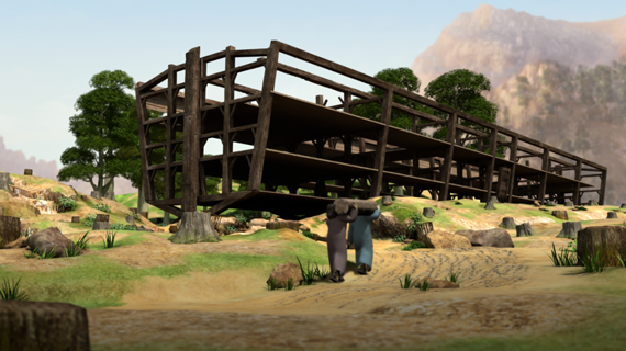 Noah Builds the Ark