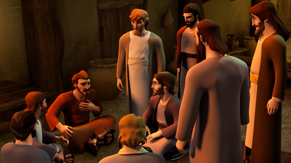 Peter Explains Actions To The Disciples