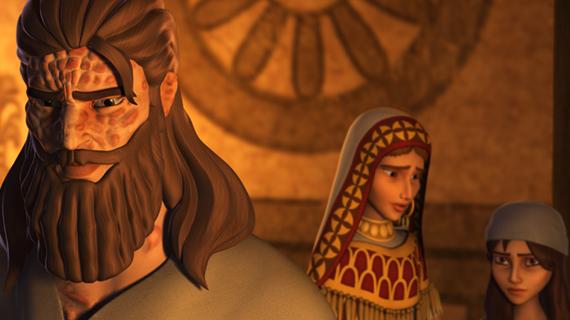 Naaman și fetița slujitoare- Cântec